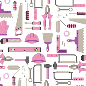 Construction tools amazing things girls love