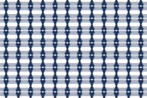 Shibori Indigo 21 fabric by fleamarkettrixie on Spoonflower - custom fabric