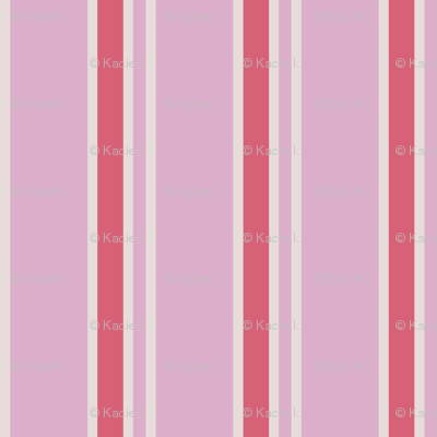 Classic Strips in Pink and Rose