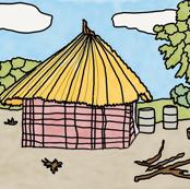 AF_101 2_4x3-ed African Village Hut-ed