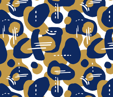 Abstract night 1 fabric by leticia_plate on Spoonflower - custom fabric