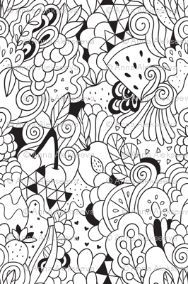 doodle_fruits