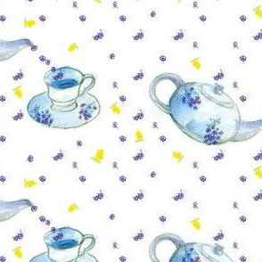 Little Blue Teapot