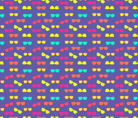 Summer Shades fabric by lauhernandez on Spoonflower - custom fabric