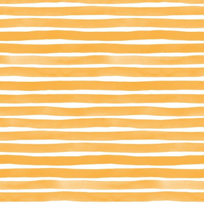 Watercolor Stripes M+M Honey by Friztin