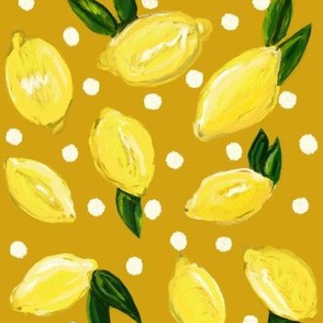 Happy Little Lemons // Mustard