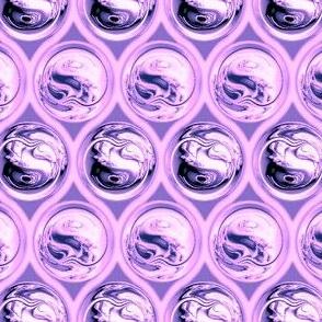Fractal Ball Bearings & Quadrefoil, Purple