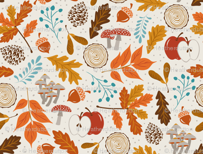 Autumn Woods - Smaller Scale