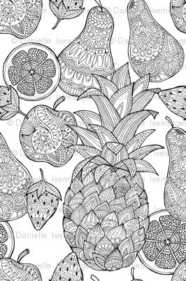 Doodle Fruit mania