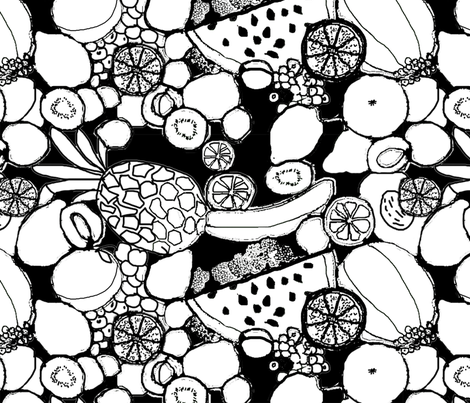 fruits fabric by belana on Spoonflower - custom fabric