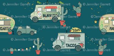 Tacos, Burrito and Margarita Fiesta