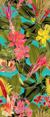 Palm In Palm ~ Floral Fantastico ~ Calypso  Linen Luxe