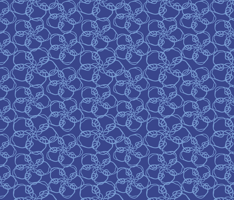 Flowers A-Whirling fabric by stasiavonn on Spoonflower - custom fabric