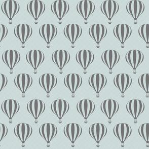 Grey Hot Air Balloons