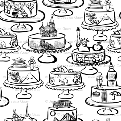 Cakes of the world