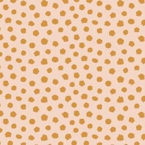 Cheetah paint spots bronze