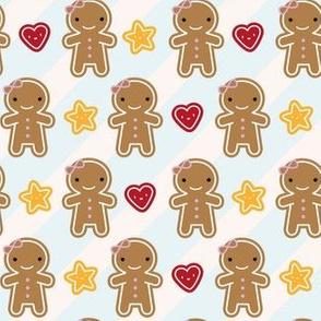 Cookie Cute Kawaii Gingerbread Girls