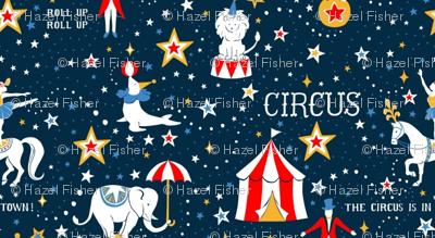 Retro Circus - small scale