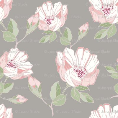 Pink Vintage rose