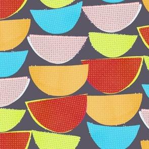 Fifties Fruit Bowl