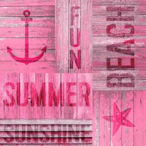 Summer Beach Typography