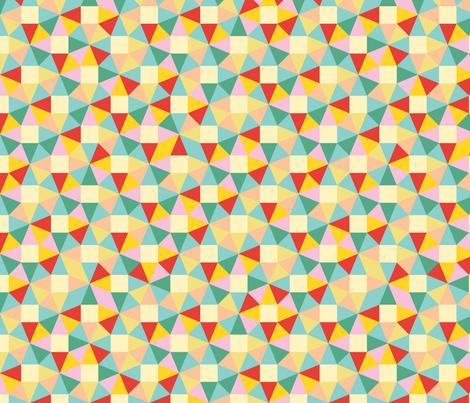 Umbrella Triangles fabric by ruthenia on Spoonflower - custom fabric