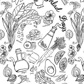 Salad Days - line