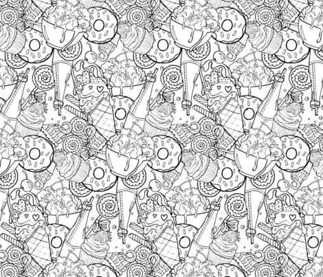 Sugar Rush fabric by rose_and_stone on Spoonflower - custom fabric