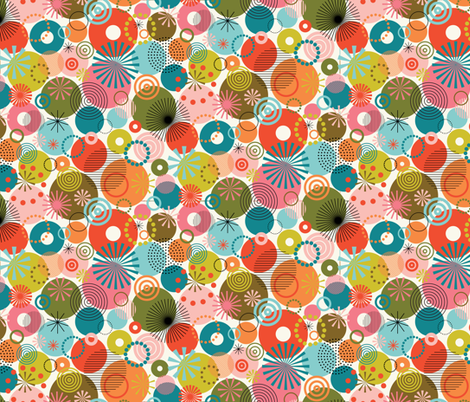 Surprise Party! - Smaller fabric by katerhees on Spoonflower - custom fabric