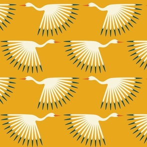 Art Deco Cranes - Custom Sunshine