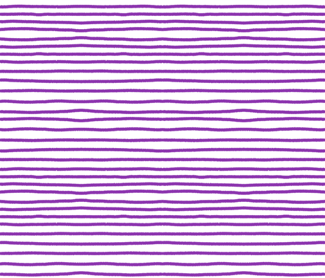 Sketchy Stripes // Med. Vibrant Purple fabric by theartwerks on Spoonflower - custom fabric