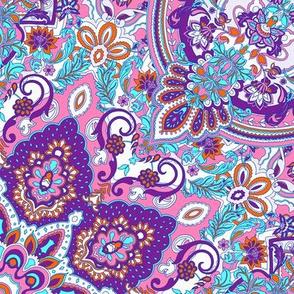 paisley-kaleidoscope-floral-leaf-symmetry-turquoise-purple