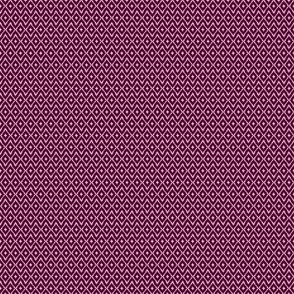 Southwest Diamond Chevron _ Burgundy & Pink _ small