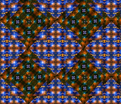 Infinity diamonds fabric by bejilledbyjillimac_designs on Spoonflower - custom fabric