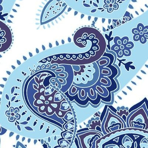 Paisley-sixties-hippie-swirl-blue