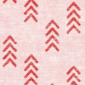 arrow stripes - pink on pink