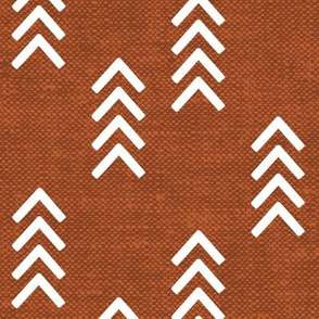 arrow stripes - orange