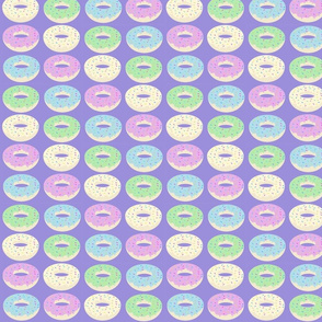 donuts purple