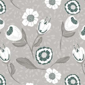 Spring garden grey