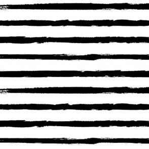 Painted Black Stripes (Distressed Grunge Stripe)