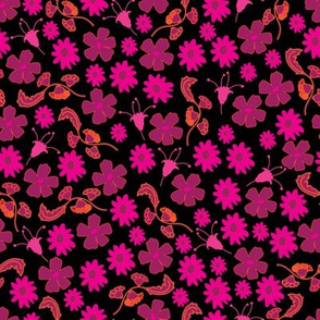 Flowers Collection-Flowers in Bloom Pattern.