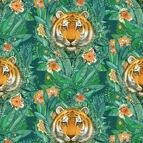 Tiger Tangle in Color - small print
