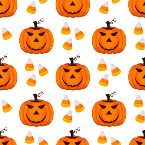 Trick or treat evil halloween scary background