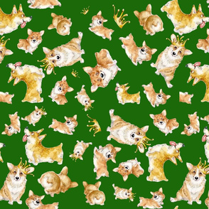 corgi cutr, small green