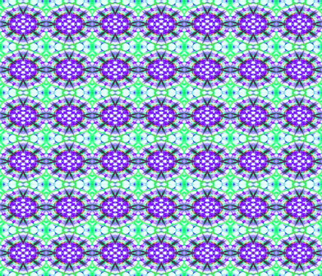 Purple Oval Bursts fabric by just_meewowy_design on Spoonflower - custom fabric
