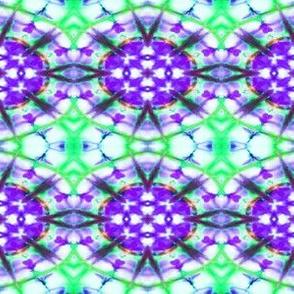 Purple Oval Bursts
