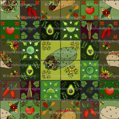 Mexican Restaurant Tiles
