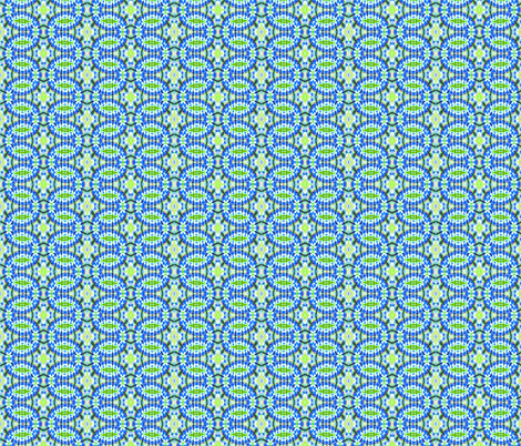 Blue Rope Tricks fabric by just_meewowy_design on Spoonflower - custom fabric