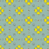 Golden Apple Blossoms