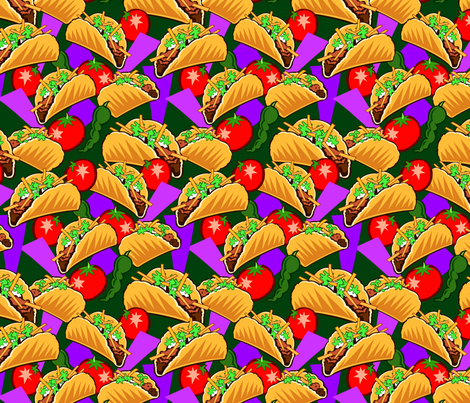 tacoss fabric by hannafate on Spoonflower - custom fabric